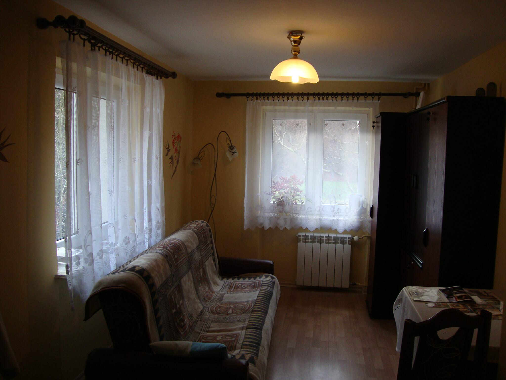 Dom Pomocy Społecznej w Ojcowie- Pokoje mieszkańców