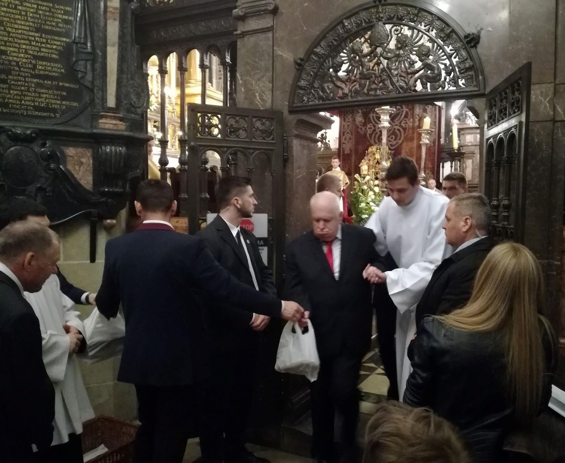 Wielki Czwartek w Katedrze Wawelskiej